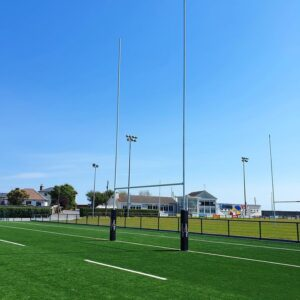 Professional Aluminium Rugby Goals – 13m Above Ground