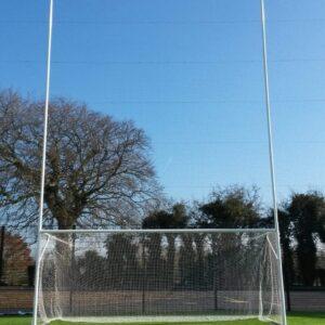 Senior GAA Goal – 13mtrs High (Hinged Ground Bar)